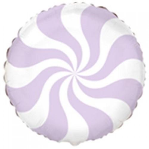 """18"""" (45см ) Шар конфета пастель лиловая/fm"""