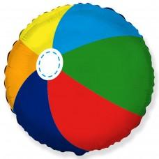 """18"""" (45см ) круг фольгированный Пляжный мяч (fm Испания)"""