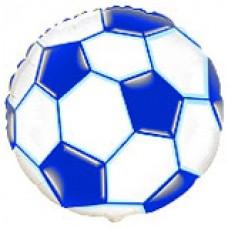 """18"""" (45см) футбольний м'яч синій / fm Іспанія"""