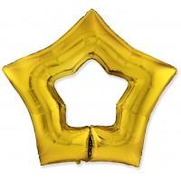 Велика фігура Зірка Порожня золота Flexmetal (Іспанія)