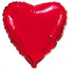 """18"""" (45см) сердце красное"""