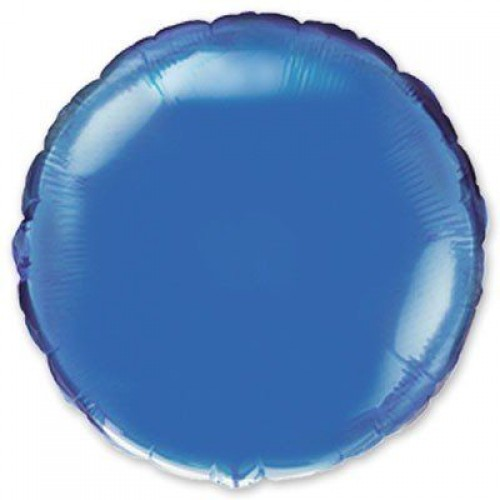 """18"""" (45см) круг синий"""