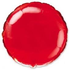 """18"""" (45см) круг красный"""