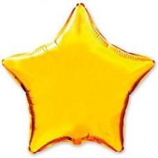 """18"""" (45см) звезда золотая"""
