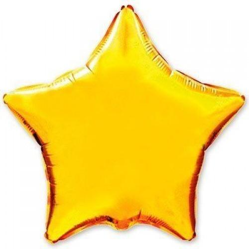 """32"""" (80см) звезда золотая"""