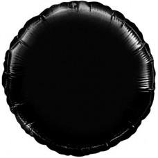 """18"""" (45см) круг пастель черный"""