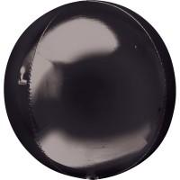 """AN 3d сфера б/рис 16"""" металлик black"""