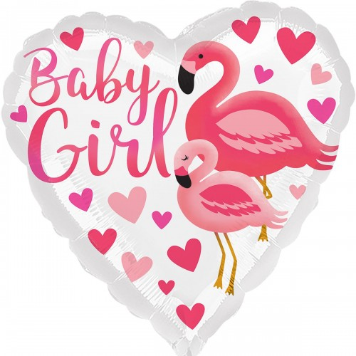"""18""""(45см) фламинго для девочки  (AN)"""