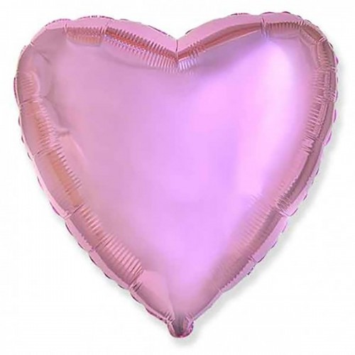 "18"" (45см) сердце розовое"