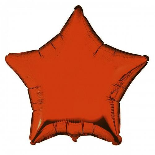 """18"""" (45см) звезда оранжевая"""