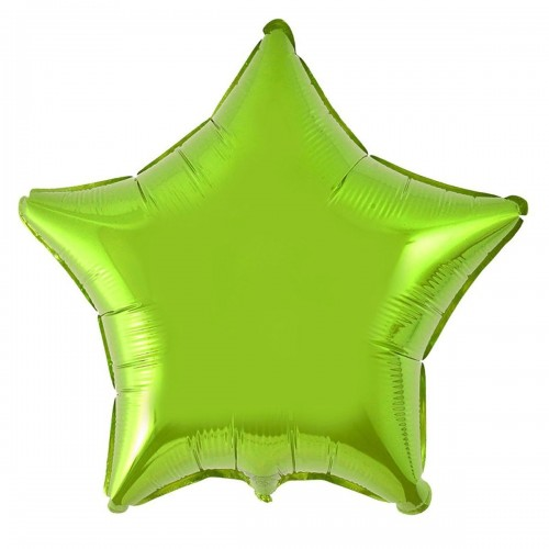 "18"" (45см) звезда салатовая"
