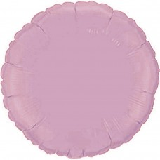 """18"""" (45см) круг пастель розовый"""