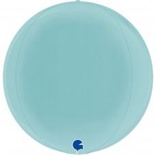 """3d сфера 15"""" (38см) пастель голубой (Grabo)"""