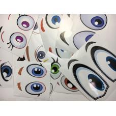 Глаза набор (10пар)