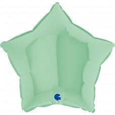 "18 ""(45см) зірка макарун м'ятний matte green (Grabo)"
