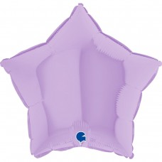 "18"" (45см) звезда макарун лиловый matte lilac (Grabo)"