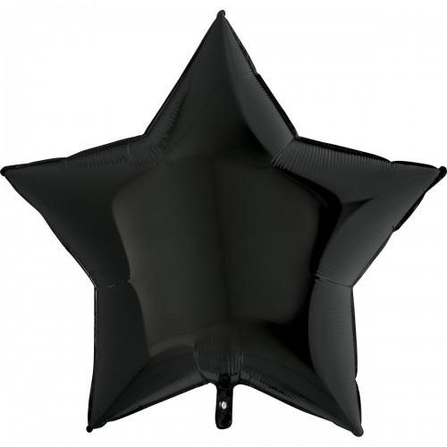 "36"" (86см) звезда черная (Grabo)"