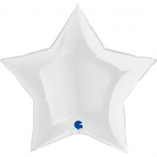 """36"""" (86см) зірка біла (Grabo)"""