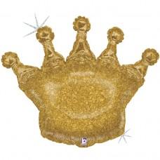 Корона золотая голография (г БФ)