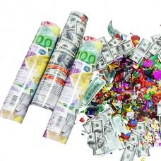 Хлопавка Долар / Євро 20 см (1шт)