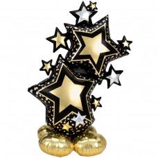 Стоячий шар Звезды голливуд (под воздух)