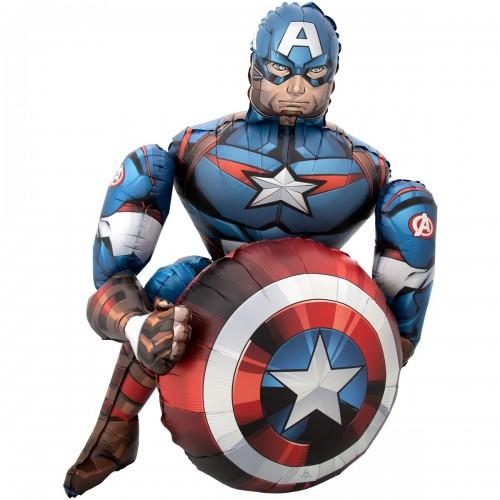 Ходячий шар Капитан Америка