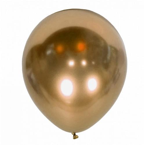 """12"""" (30см) кулька Хром золото, Kalisan (50шт)"""