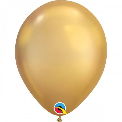 """7"""" (18см) хром золотистый chrome gold (25шт) США"""