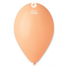 """G 10"""" (25см)/60 пастель персиковый (100шт)"""