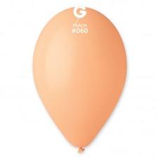 "10 ""(25см) куля латексна пастель персиковий / 60 (100шт) Gemar (Італія)"