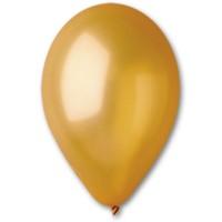 """5 """"(13см) куля латексна металік золота / 39 (100шт) Gemar (Італія)"""