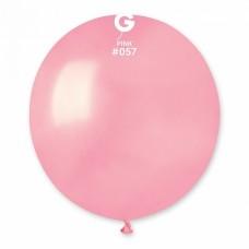 """18 """"(46см) куля латексна пастель рожева / 57 (1шт) Gemar (Італія)"""