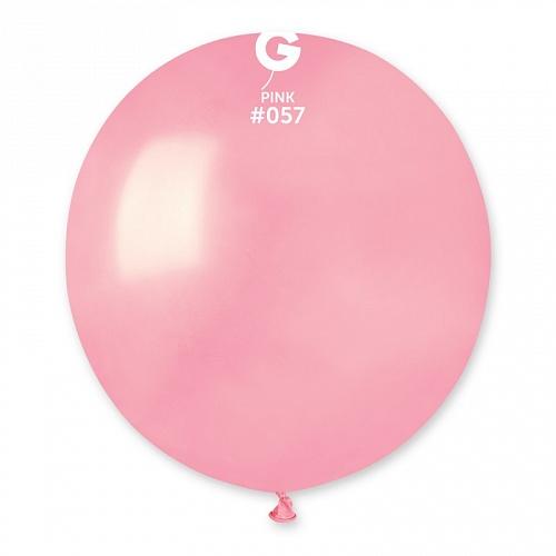 """18""""(46см) шар латексный пастель розовый/57 (1шт) Gemar (Италия)"""