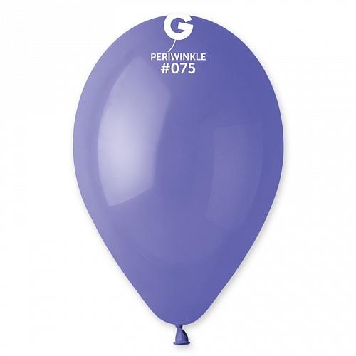 """12""""(30см) шар латексный пастель барвинок/75 (100шт) Gemar (Италия)"""