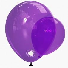 """Kalisan 12"""" (30см) Фиолетовый декоратор violet TR (50шт)"""