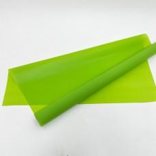 Калька матовая однотонная салатовая 0,7х10м