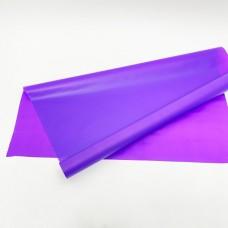 Калька матовая однотонная фиолетовая 0,7х10м