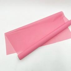 Калька матовая однотонная туманно-розовая 0,7х10м
