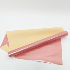 Калька розовое золото жемчуг+ матовый 0,6х10м