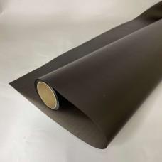 Калька матова однотонна чорна 0,7х10м