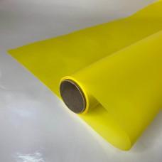 Калька матова однотонна жовта 0,7х10м