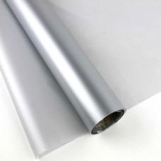 Калька матовая однотонная серебро 0,7х10м