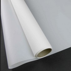 Калька матова однотонна біла 0,7х10м