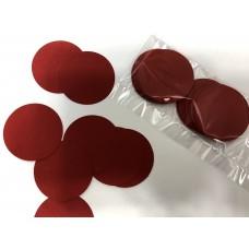 Кружочки картонные красные 4.5см (28шт)