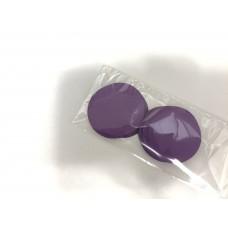 Кружочки картонные фиолетовые 4.5см (28шт)