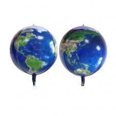 """22"""" (56см) Планета Земля (сфера Китай)"""