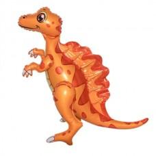 Стоячий шар Спинозавр оранжевый (Китай)