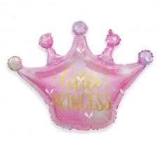 Корона розовая Little Princess 70х68см (Китай БФ)