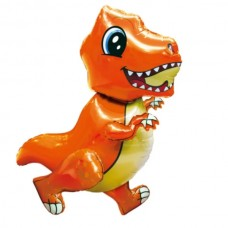 Ходячка Динозаврик оранжевый 51х77 см (Китай БФ)