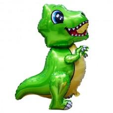 Ходячка Динозаврик зеленый 51х77 см (Китай БФ)